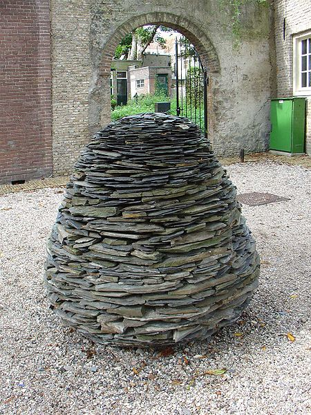 A cone by Andy Goldsworthy
