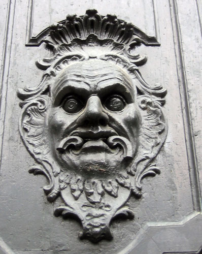 Green Man in Santiago