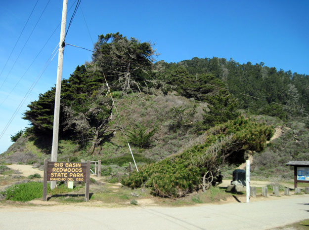 Entrance to Big Basin State Park