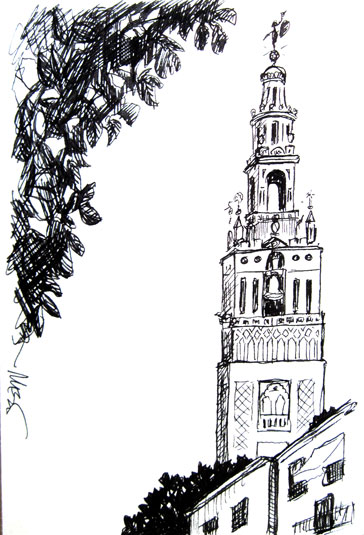 The Giralda, Seville