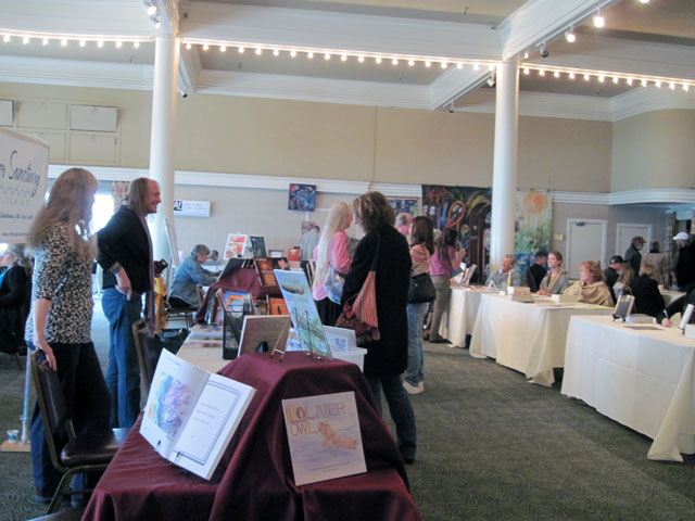 The crowd at Poetry Festival Santa Cruz