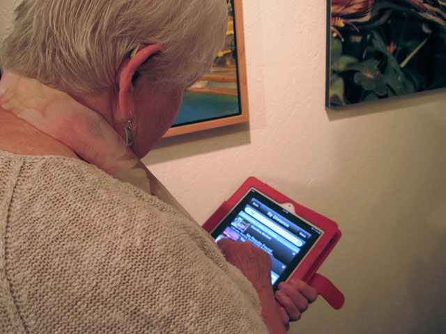 The Open Studios app in action