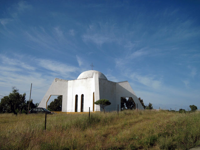 Modern chapel of San Isidro