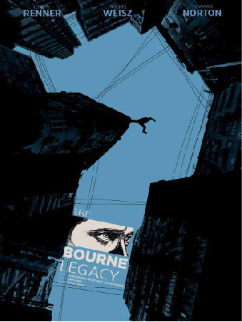 Poster for 'The Bourne Legacy'