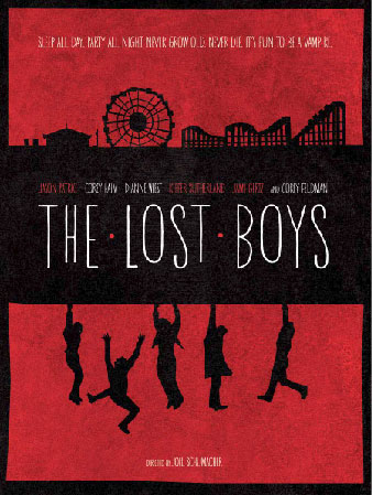 Poster for Lost Boys