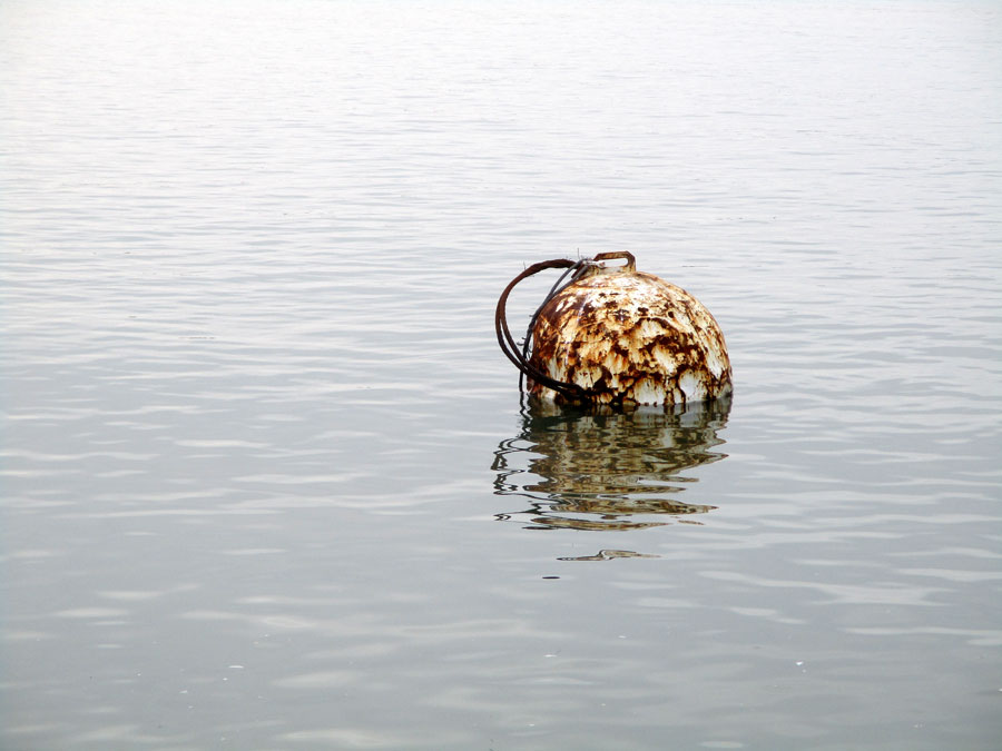 A rusty float