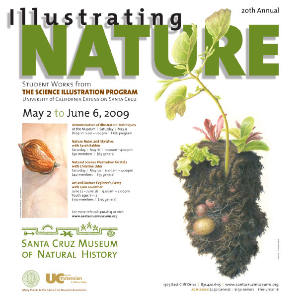 The Illustrating Nature poster